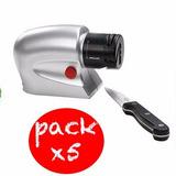 Pack X5 Afilador De Cuchillos Electrico