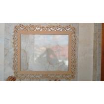 Moldura Mdf Provençal Gde 100x90cm Decor Festa, Foto,espelho