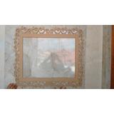 Moldura Mdf Provençal Grande Decor Festa, Foto,espelho 1,20m