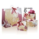 Embalagem De Presente Sacola P Dia Das Mães(natura)1 Unidade