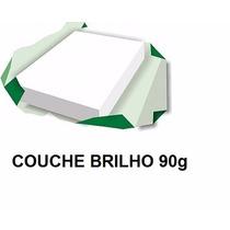 Papel Couchê Brilho A4 (90g/m²) - 1000 Folhas