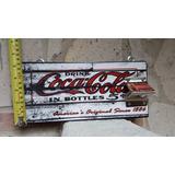 Cuadro Vintage Coleccionable Destapador Coca Cola