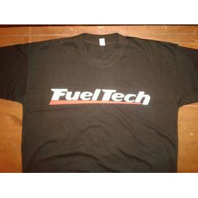 Remera Fueltech - Doble Estampa - Personalizada