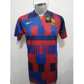 Nuevo Jersey Playera Barcelona 20 Años Nike Mashup Messi b843f261ccb