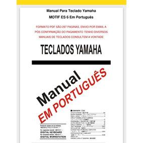 Manual Para Teclado Motif Es6 Português