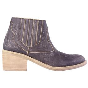 Botas Mujer 100% Cuero Texanas Chatas Moda 2018 Tops Zapatos