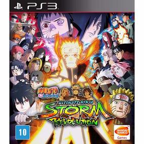 Naruto Ultimate Ninja Storm Revolution - Ps3 - Mídia Física