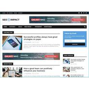 Template Para Blogger Seo Impact Premium Portais Notícias