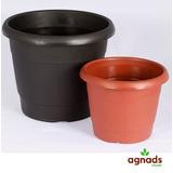 50 Vasos Plastico Preto Plantas 2,5 L - Preço Atacado