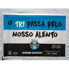 Bandeira Grêmio Final Da Libertadores 2017- Plástico