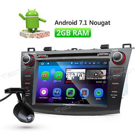 Dvr 8 Radio Coche Gps 7.1 Android Os Para Mazda 3