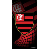 Toalha Time Veludo Praia Algodão Flamengo 207315 Buettner