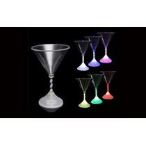 10 Copa Vaso Led Martini Articulos Decoracion Fiestas Bodas