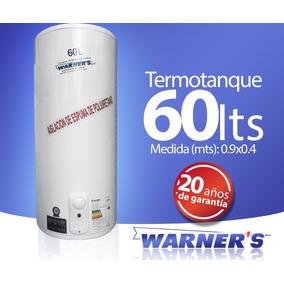 Termotanque / Calefon Tanque De Cobre 60lts Warners Plus