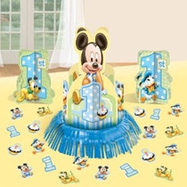 Mickey Mouse Primero Cumpleaños Tabla Adorna El Kit De La Pi