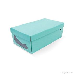 Caixa Organizadora Com Visor Para Sapato Feminino Acqua Boxm