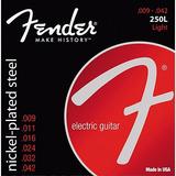 Cuerdas Fender Para Guitarra Eléctrica 009 Y 010