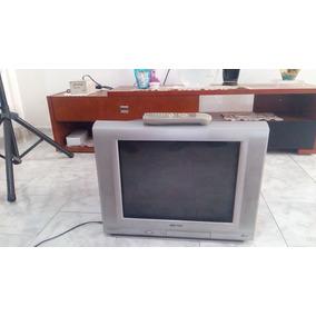 Television Sharp 21 Pulgadas Usada Buen Estado Cd Neza $499