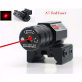 Mira Laser Para Paintball, Caça, Camping, Lazer, 11mm E 20mm