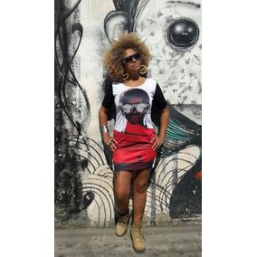 Kit Vestido Curto Moda Afro 4 Peças Tamanho Unico Veste 44