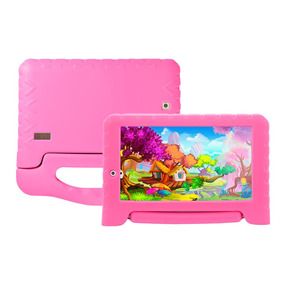 Tablet Multilaser Kid Pad Plus Nb279 Rosa