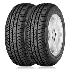 Kit 2 Pneus Aro 14 Barum 175/65r14 Brillantis 2 82t