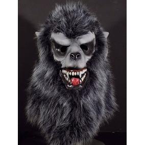 Mascara De Latex De Hombre Lobo Halloween Terror