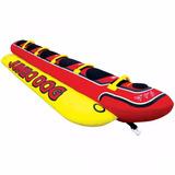 Boia Inflável Jumbo Dog Banana Boat 5 Pessoas Jet Ski Lancha