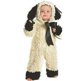 disfraz borreguito bebe reno duende santa mono nieve galleta