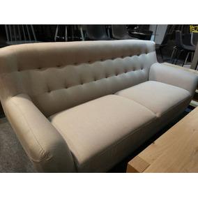 Sillon 3 Cuerpos Escandinavo Vintage Sofa 3 Cuerpos Rosario