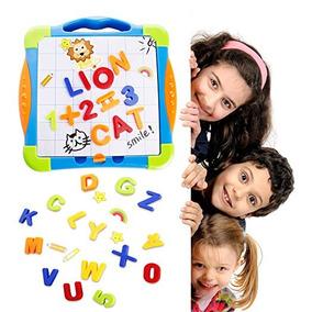 Magnéticos De Mesa Letras Números Dibujo Educativos Juguetes