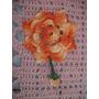 Kit Com 5 Flores De Crochê Para Tapete Banheiro Sala Cozinha