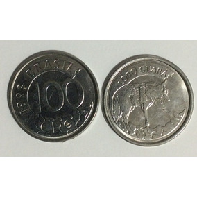 Moedas 100 Cruzeiros Reais 1993