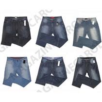 Kit C/ 10 Calças Jeans Masculina Várias Marcas Revenda Ataca