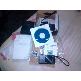 Cámara Cyber Shot Sony De 16.2 Mega Píxeles Dsc-wx80