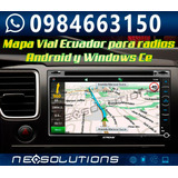 Mapa Gps Ecuador Radio Chino Igo 8 Primo Sygic Kudos Map +