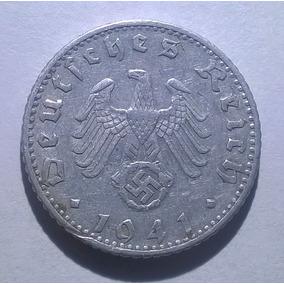 Alemania Nazi 50 Reichspfennig 1941 F - Tercer Reich