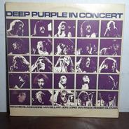 Vinil Lp Deep Pourple In Concert Álbum Duplo Capa Dupla