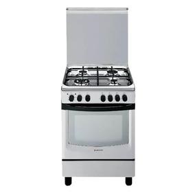 Cocina Ariston Cx650sp1x Acero Inox 60cm Horno Electrico