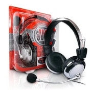 Fone De Ouvido Red Set Headphone Huanle Hl301mv