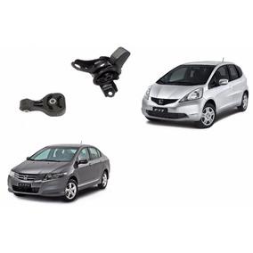 Kit Coxim Motor E Cambio Honda City E New Fit ( Automatico )