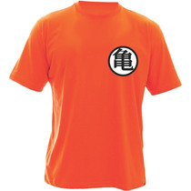 Camiseta Dragon Ball - Kimono Goku Para Treino