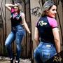 Calça Skinny Rhero Original Jeans Estilo Pitbull