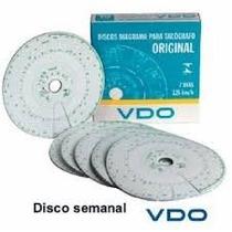 Disco Tacografo Vdo...125 Km 7 Dias Semanal