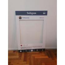 Marco Fotos Instagram Facebook Cumpleaños Baby Shower Fiesta