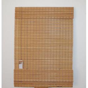 Persiana Romana De Bambu Imbuiá Cortina 1,20 X 1,60 Alt
