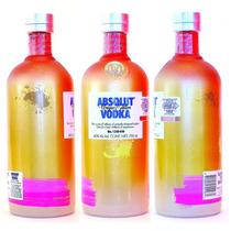 Absolut Vodka Unique Vacia De Coleccion Glimmer V2 Korea Mix