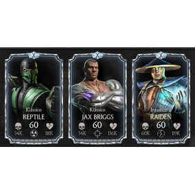 Personagens Mortal Kombat X Mobile - Android E Ios