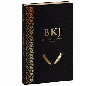 Bíblia King James Fiel 1611 Preta Ultra Fina Lançamento