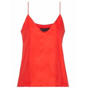 Musculosa Mujer Deleon Rojo The Net Boutique
